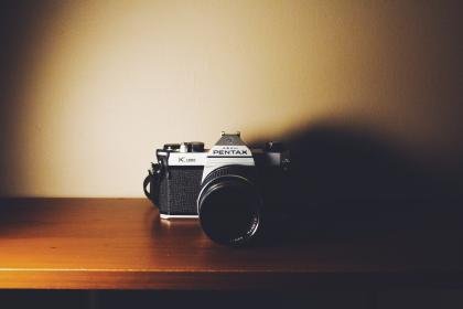 camera, photography, pentax, lens, slr, dark