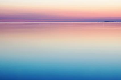 ocean, sea, water, horizon, sunset, landscape, nature, sky