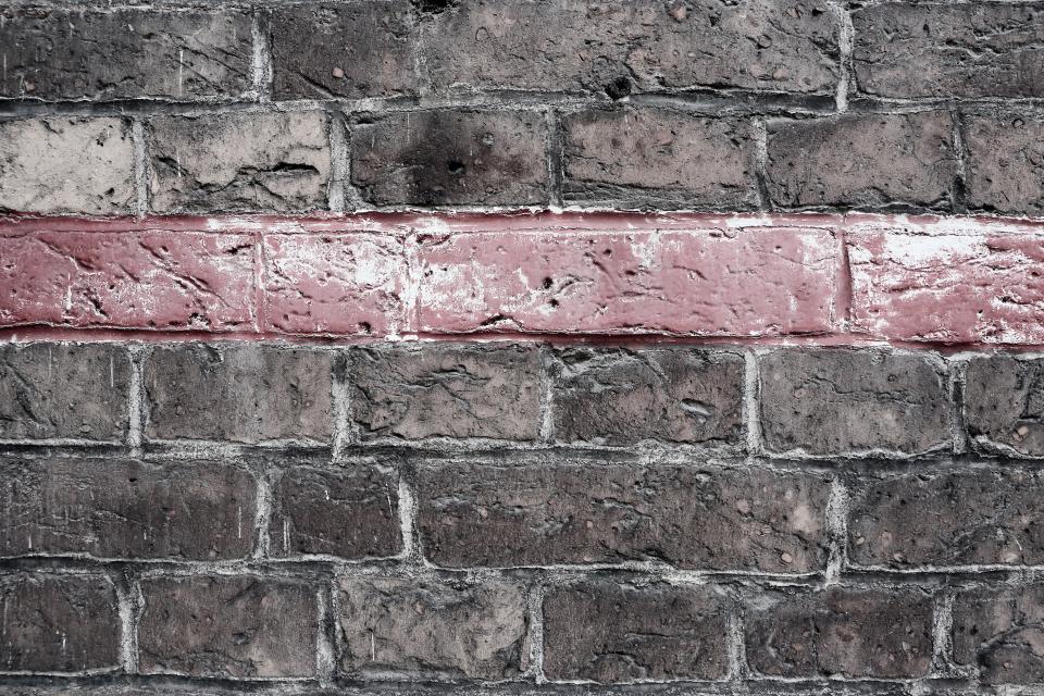 bricks, wall, red, line, pattern