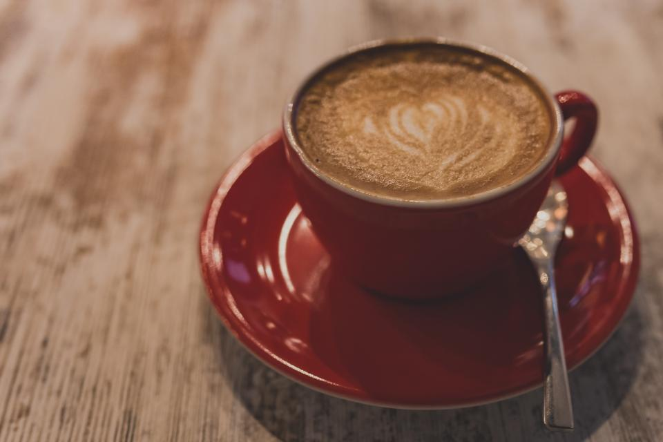 cafe, coffee, cappuccino, latte, cup