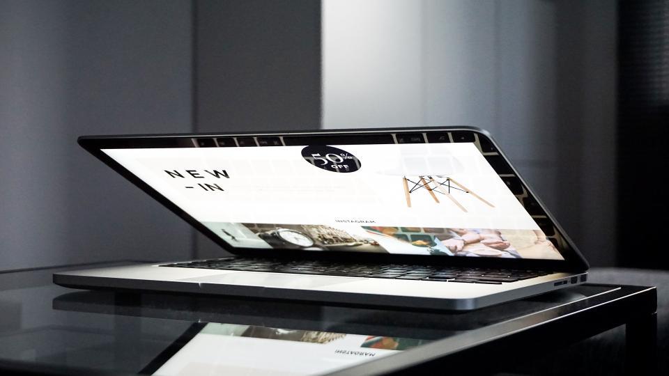 office, work, business, table, desk, workspace, gadgets, macbook, laptop, computer, screen,