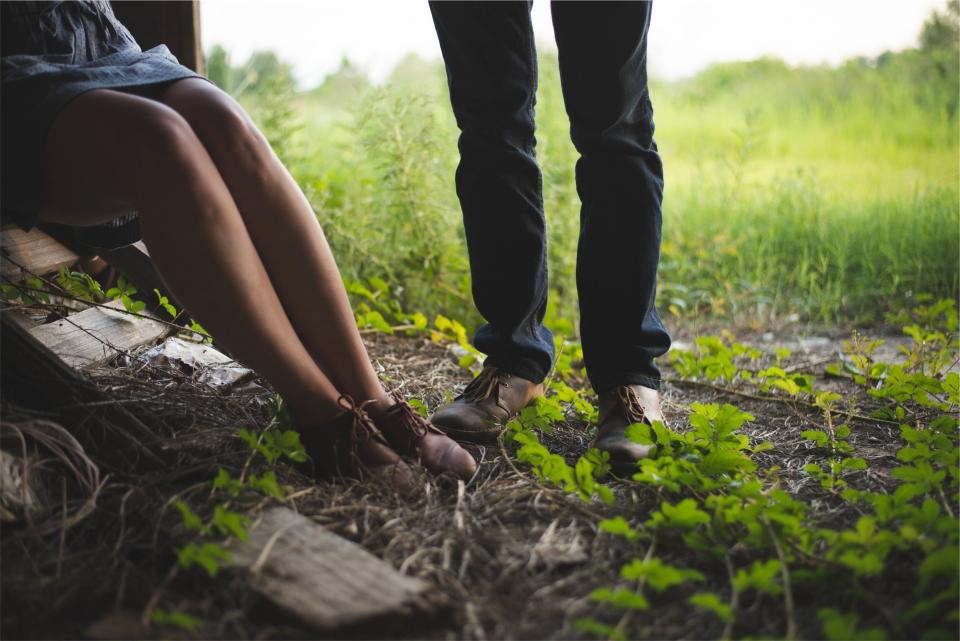 dress, legs, shoes, pants, jeans, denim, clothes, fashion, people, ground, rural, country