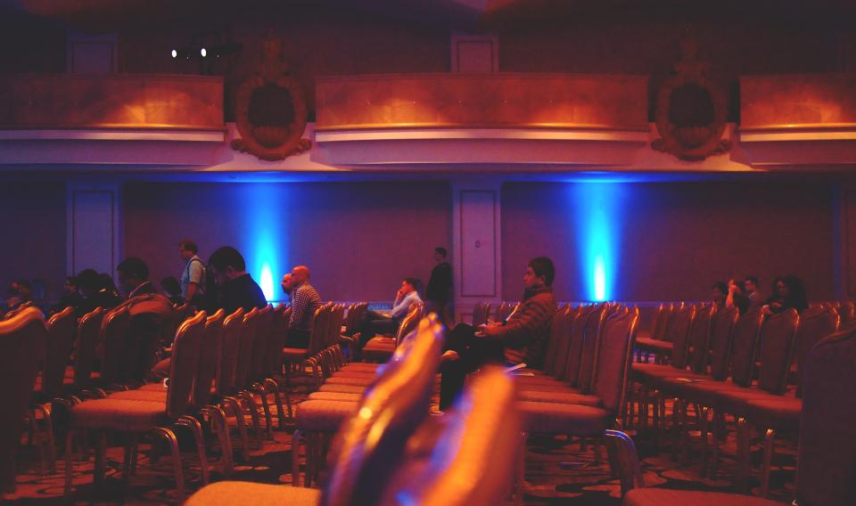business, conference, presentation, people, chairs