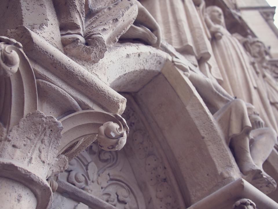 Notre Dame church, Paris, France, architecture, religion