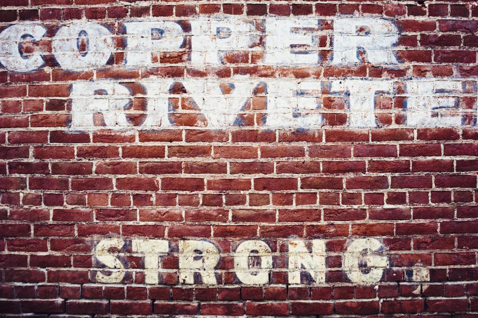 graffiti, red, brick, strong, paint