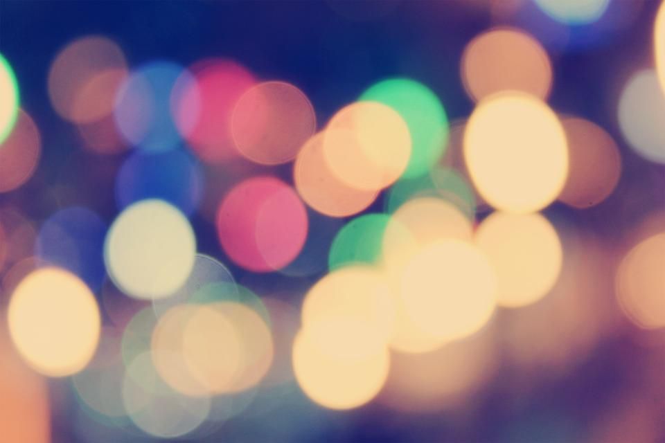blurred, blurry, lights, bokeh, abstract