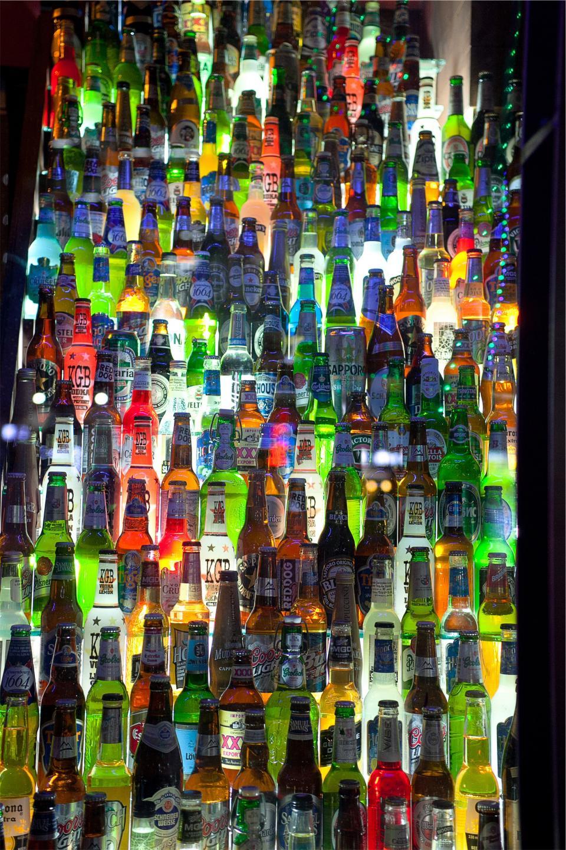 bottles, beer, alcohol