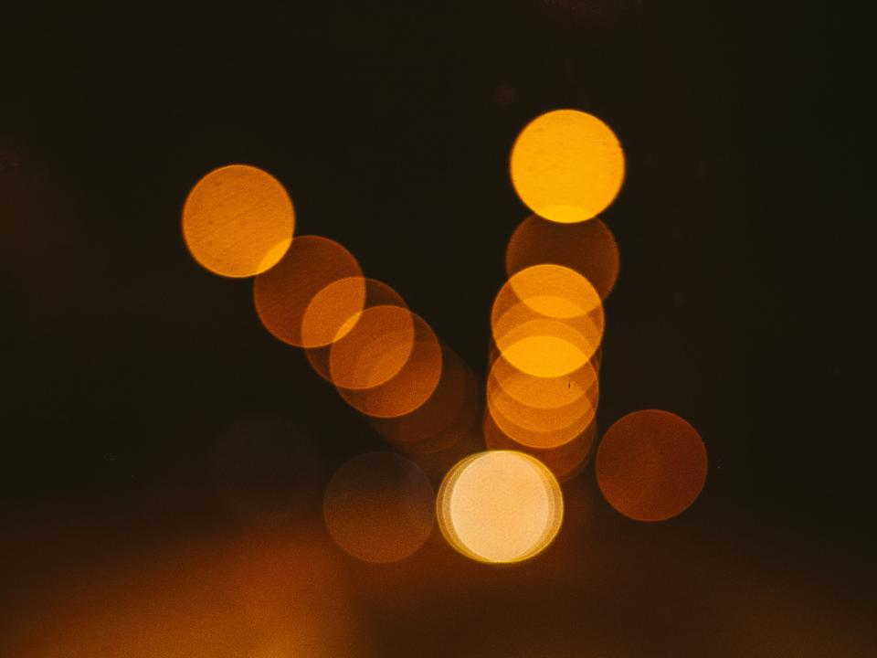 lights, blurry, abstract, night, dark, evening, bokeh