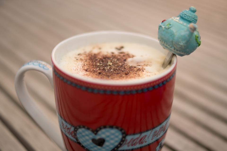 coffee, latte, cappuccino, cocoa, cup, mug, drink