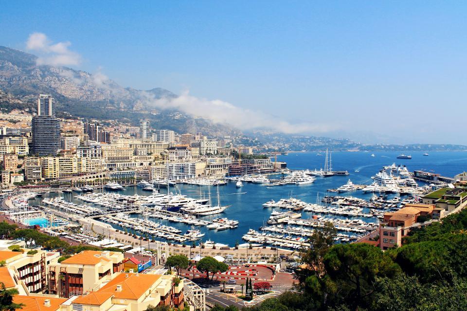 boats, yachts, marina, docks, water, sea, coast, mountains, hills, buildings, city, town
