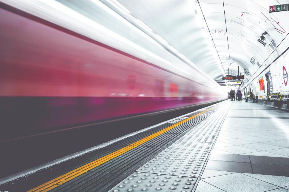 metro, subway, train, station, transportation, city, urban