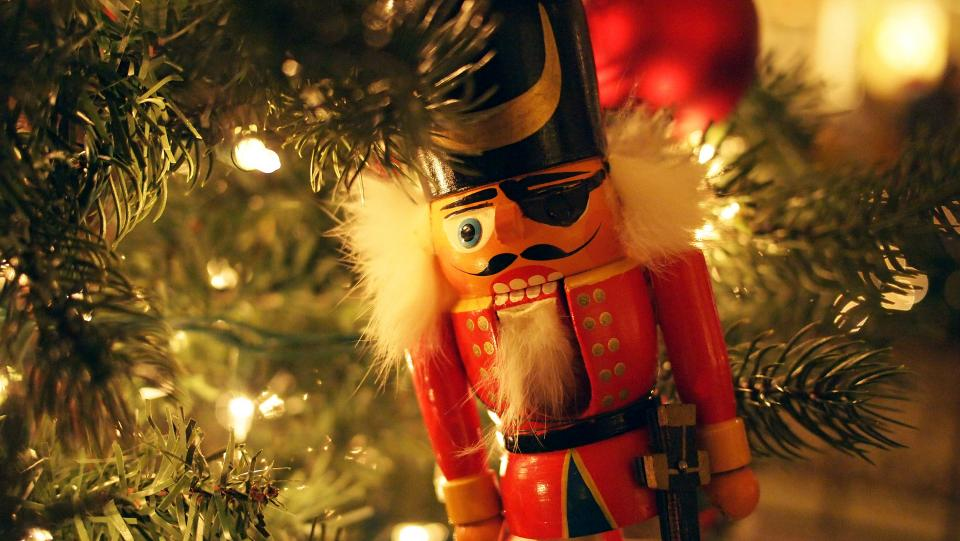 nutcracker, Christmas, ornament, decorations