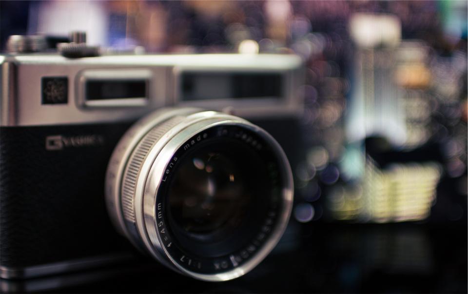 G Yashika, camera, slr, lens, photography, technology