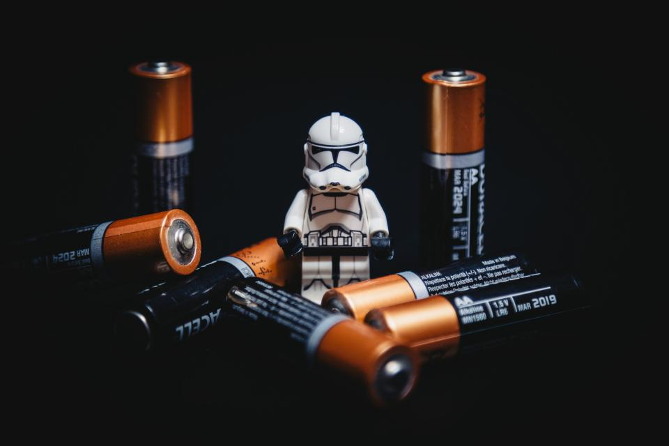 batteries, battery, power, star wars, storm trooper, lego, objects