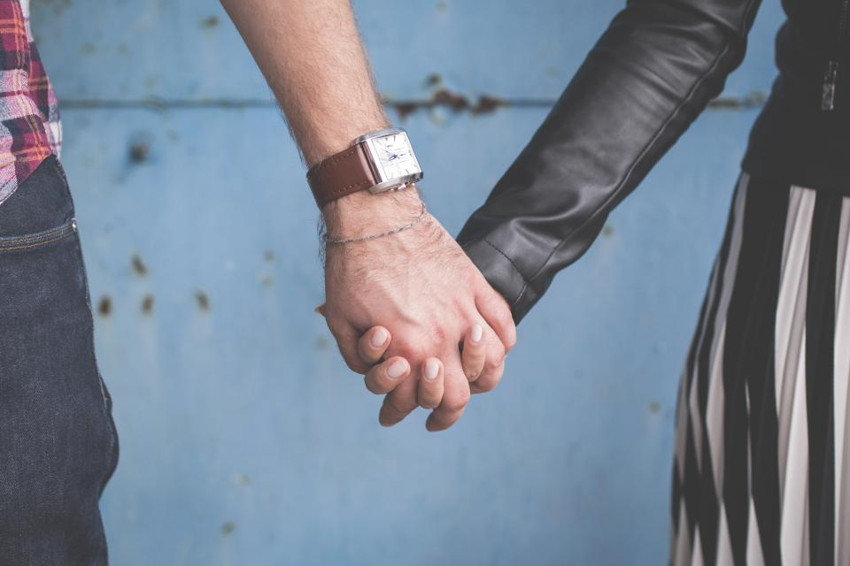 holding hands, couple, love, family, people, guy, man, girl, woman, watch, romance, romantic