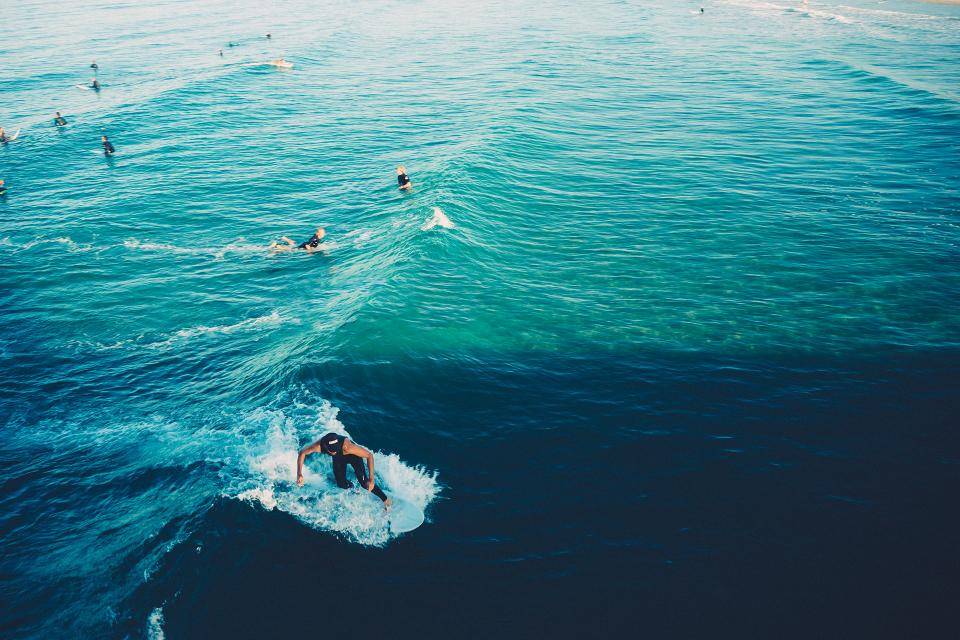 surfing, surfer, waves, water, ocean, sea, beach, sports