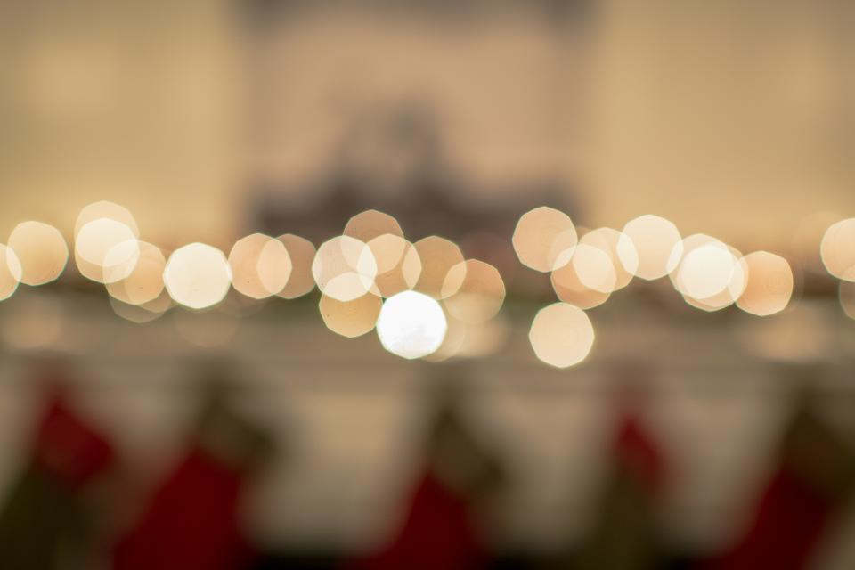 lights, blurry, abstract, bokeh