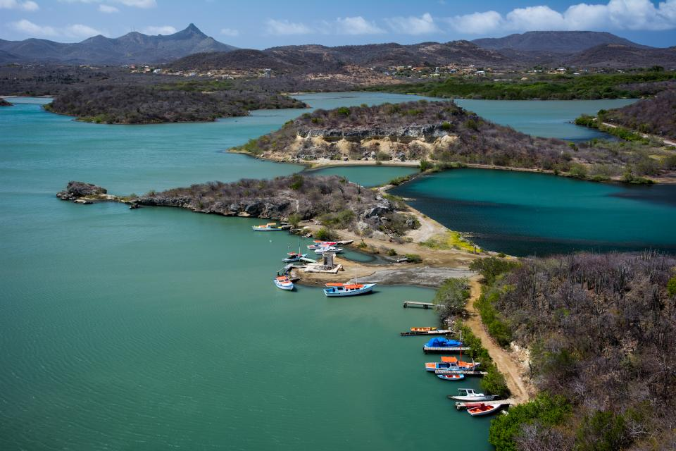 Santa Martha Bay, Curacao, caribbean, harbor, boats, water, sea, landscape, islands