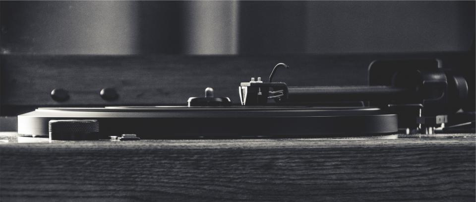turntable, record, vinyl, needle, tonearm, music, musical instrument