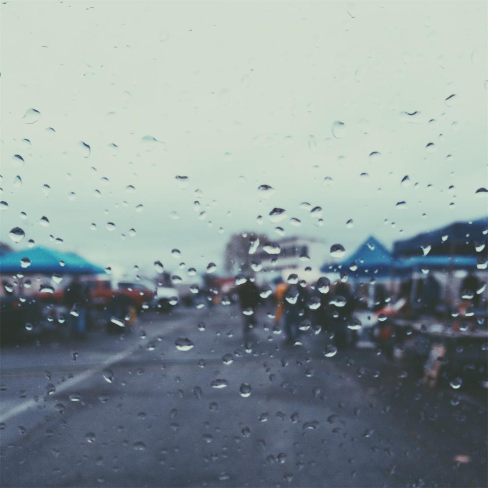 raining, rain drops, wet