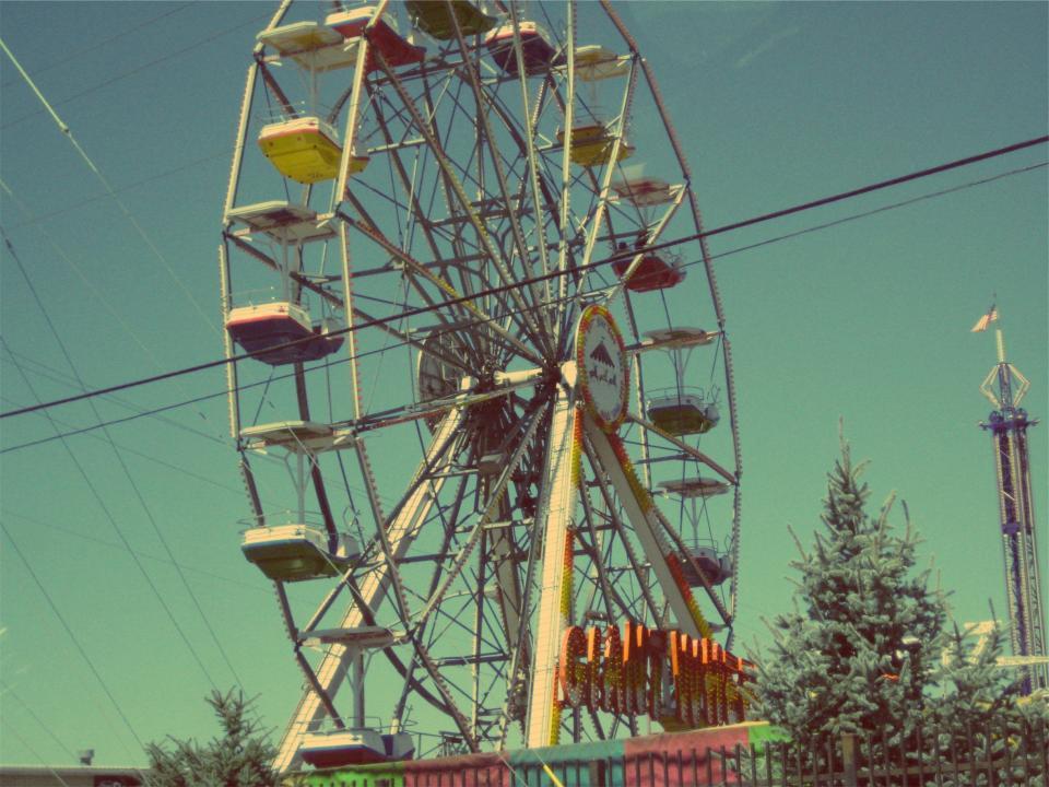 ferris wheel, fair, fun, amusement park, ride