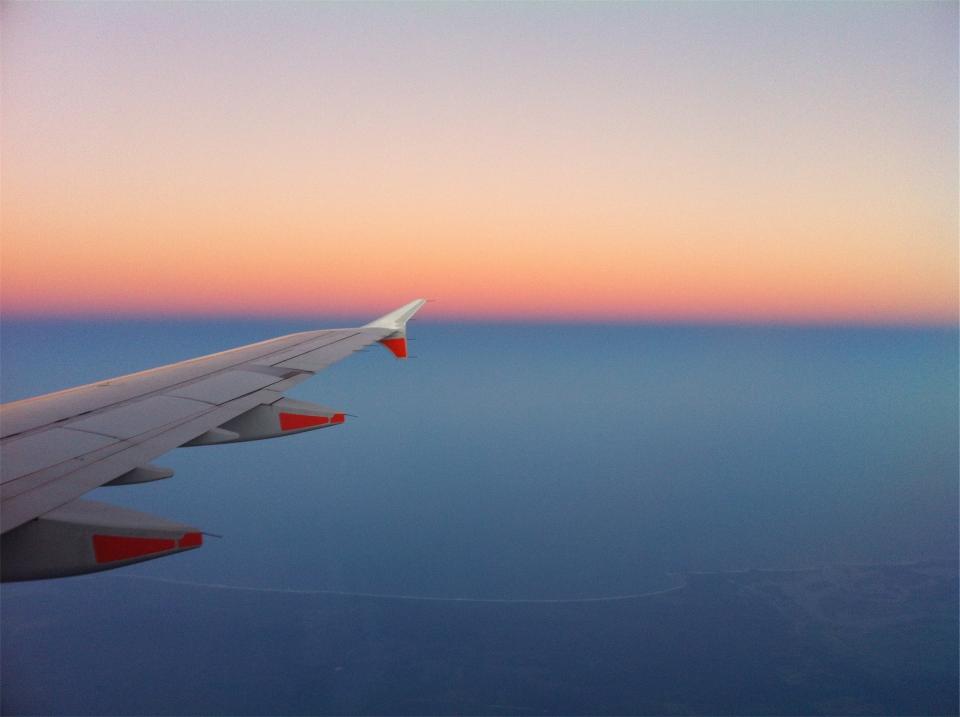 airplane, wing, flight, flying, travel, transportation, sky, aerial