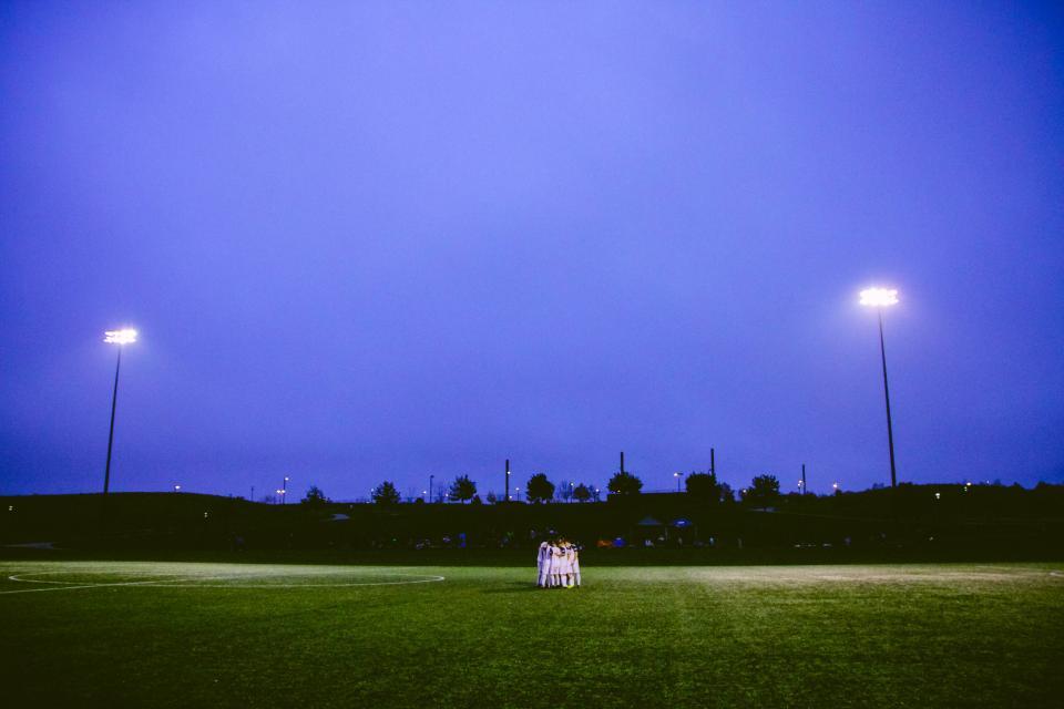 soccer, field, lights, night, dark, grass, athletes, fitness, sports