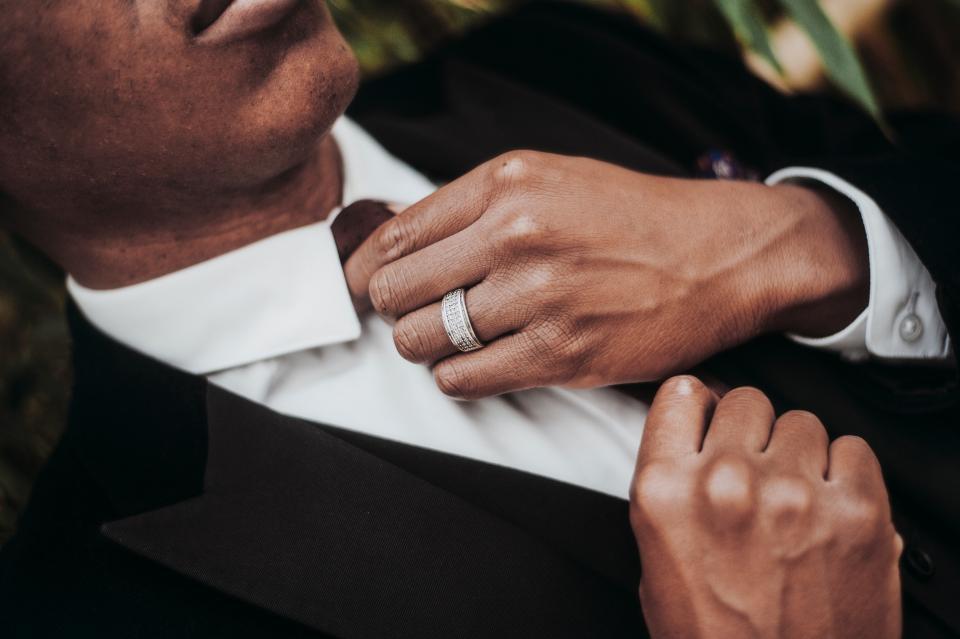 people, man, suit, tie, wear, ring, clothing