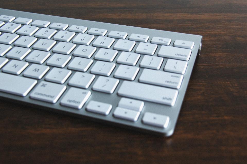 keyboard, business, office, desk, technology, objects