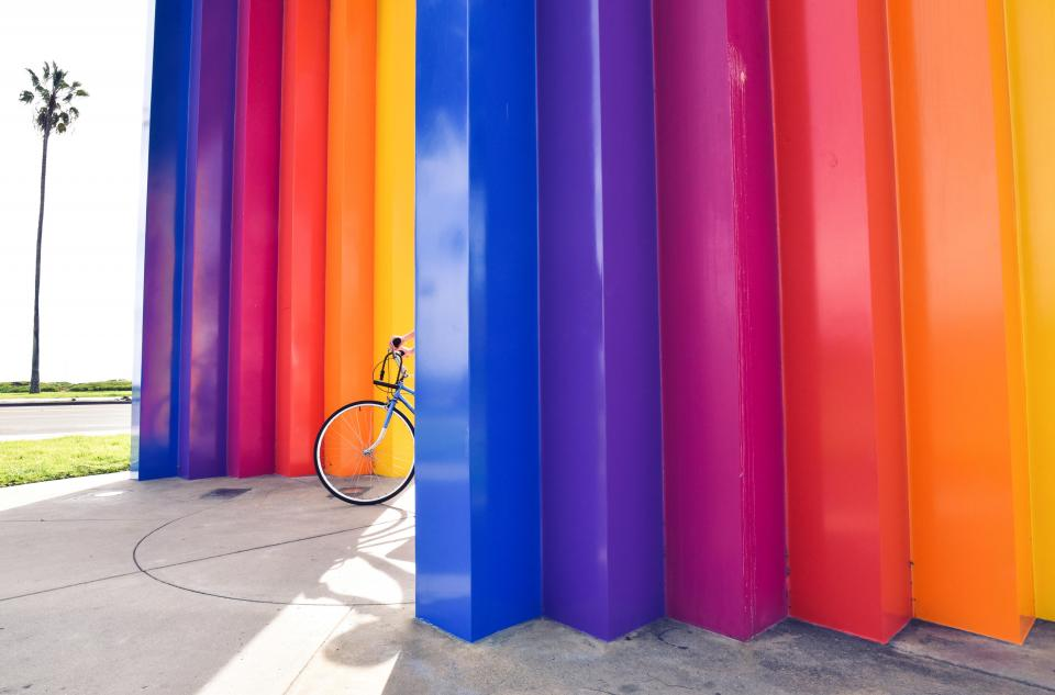 colors, colours, bike, bicycle, park
