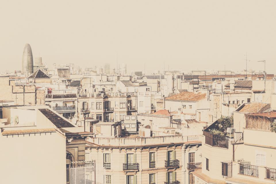 buildings, houses, apartments, architecture, city, urban, rooftops, sky, town