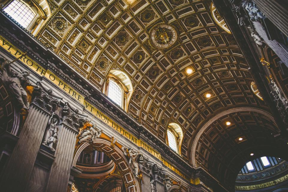 church, building, structure, dome, cathedral, basilica, sculpture, window, design