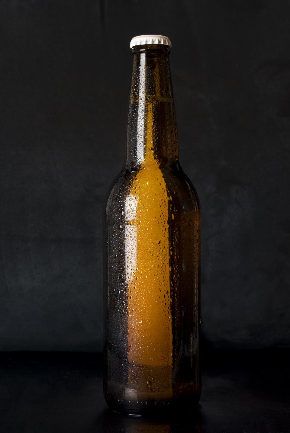beer, bottle, alcohol, brew, cold