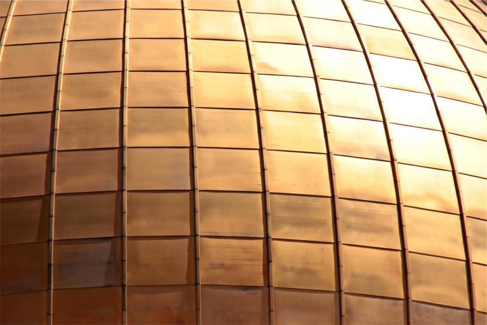 bronze, squares, pattern, texture, architecture
