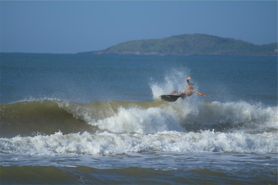 surfing, surfer, surfboard, waves, splash, ocean, sea, water, summer