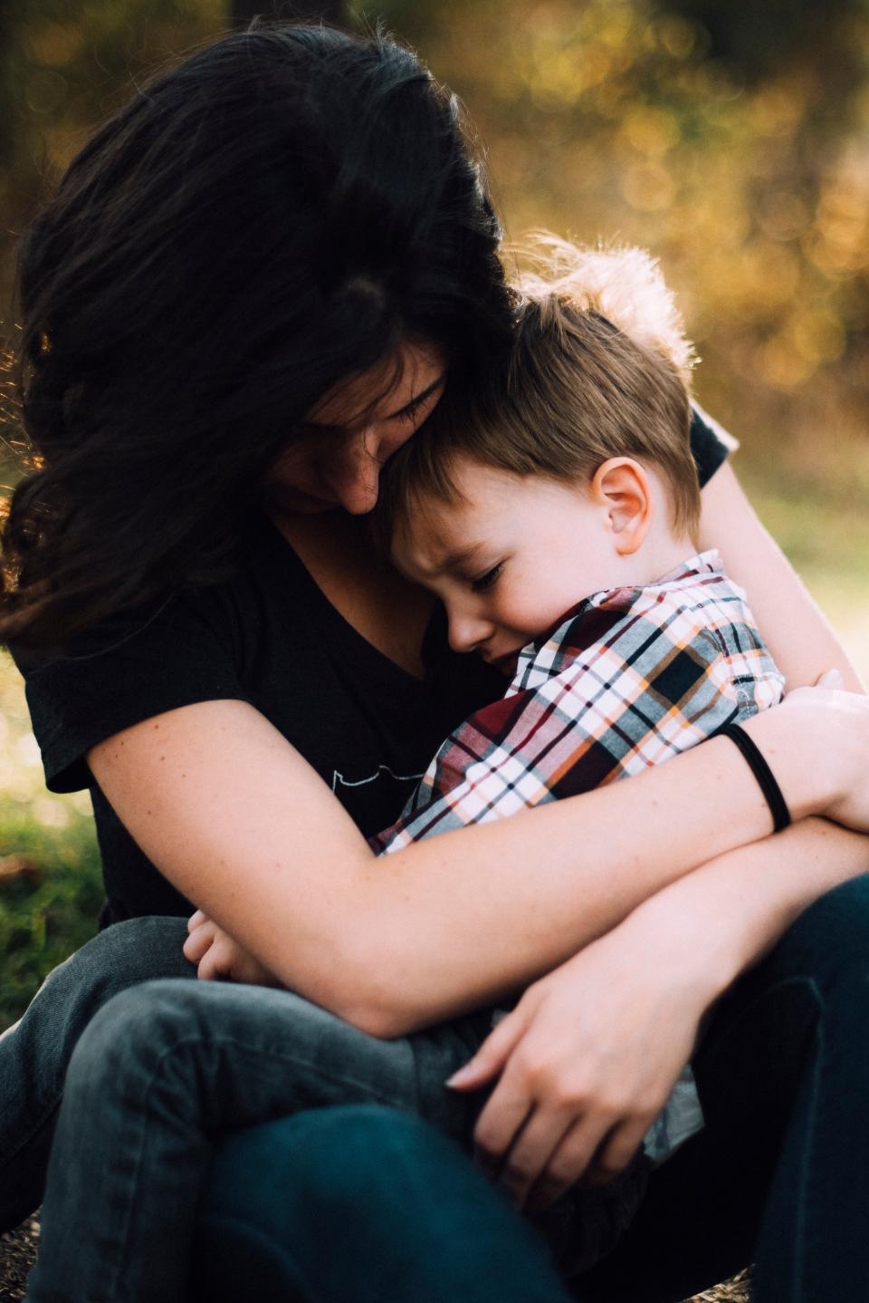 mother, woman, people, kid, baby, child, hug, love, parent, sitting