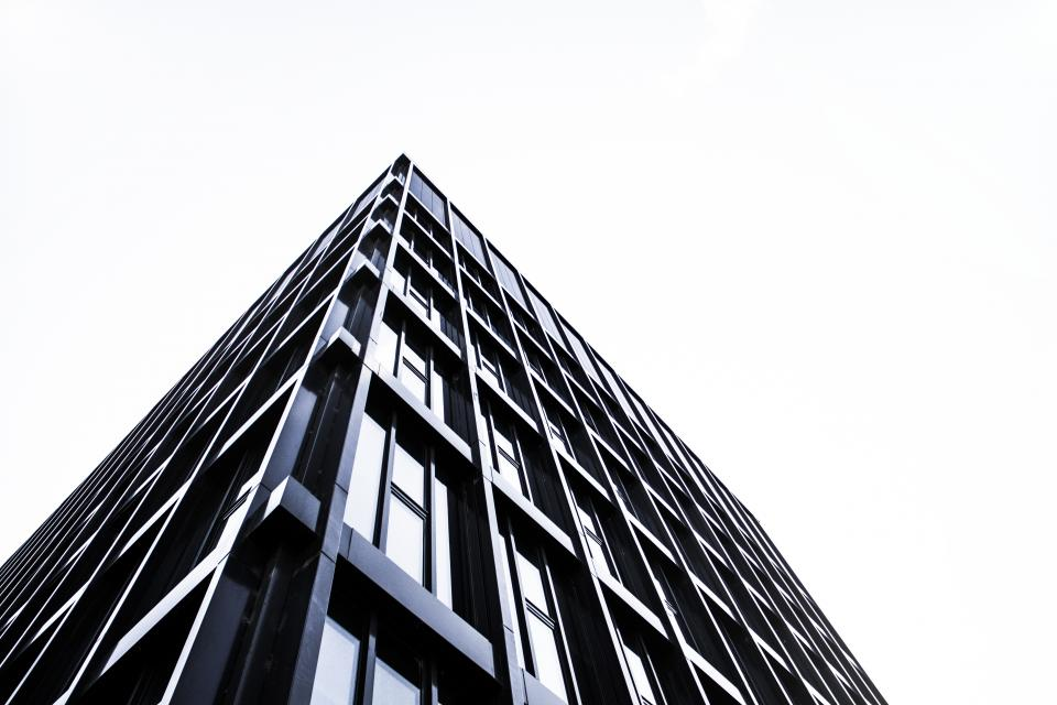 building, condo, apartment, flat, windows, architecture, sky, urban