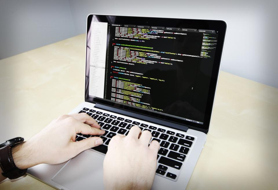 coding, business, working, macbook, laptop, computer, technology, programming, sublime text, software, PHP, laravel, code