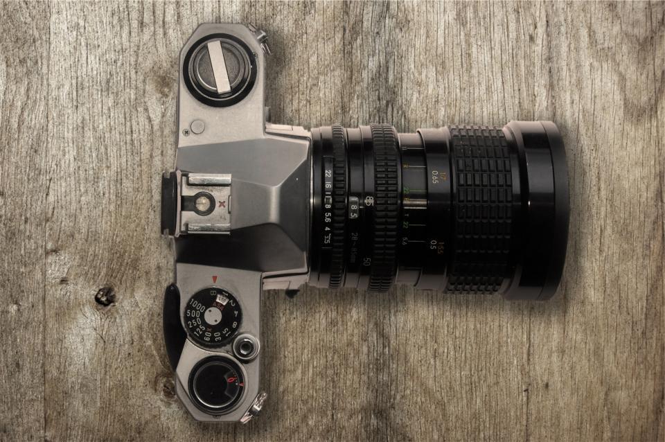 camera, dslr, lens, technology, photography, wood
