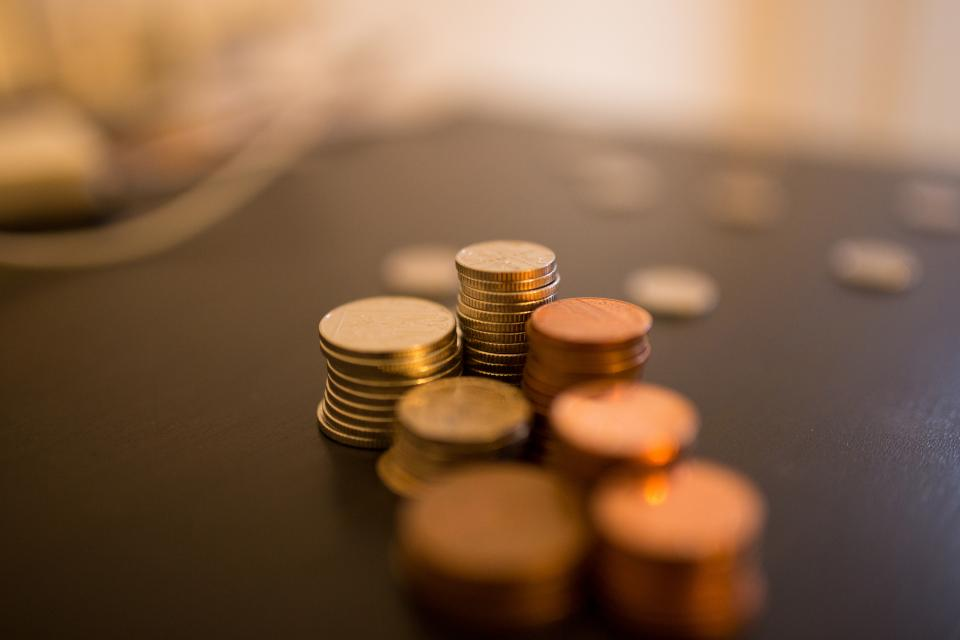 money, coins, currency, business, change, finance