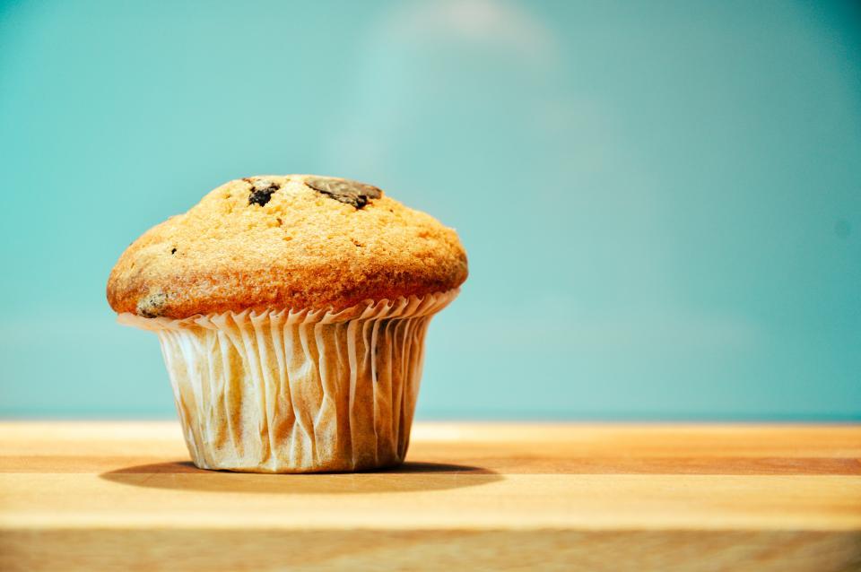 muffin, breakfast, baking, food, snack