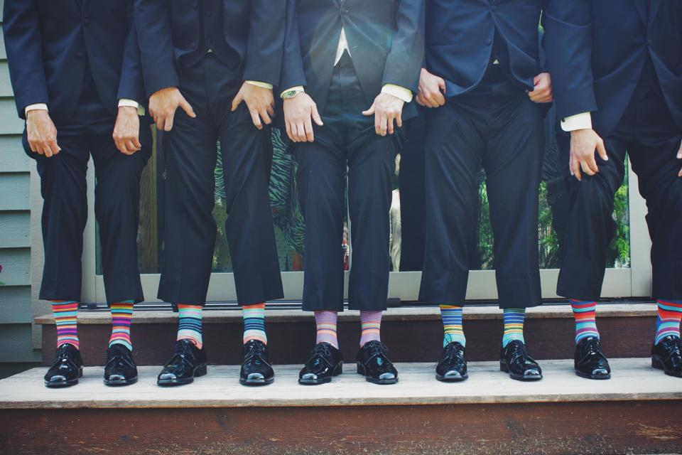 suits, shoes, funky socks, fashion, classy, people, men