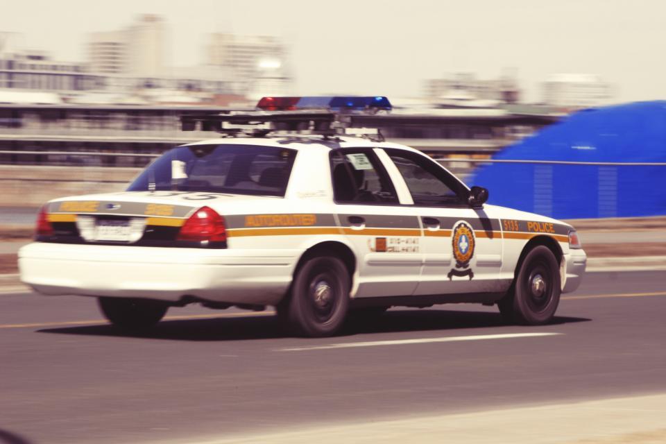 police car, sirens, lights, cop, crime, driving, speeding, road