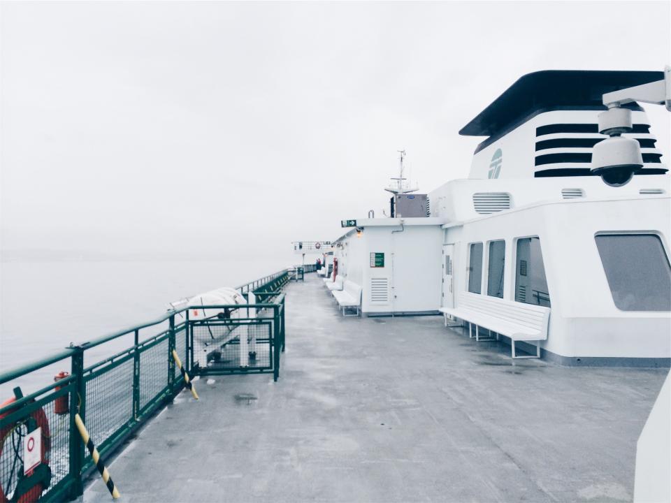 boat, ship, deck