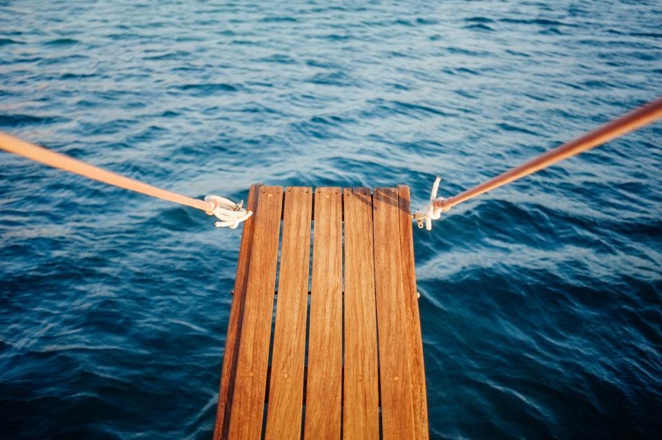 wood, plank, water, ocean, sea