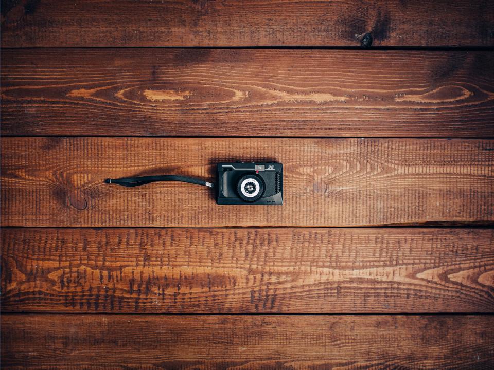 camera, vintage, oldschool, wood, grain, texture, pattern, objects