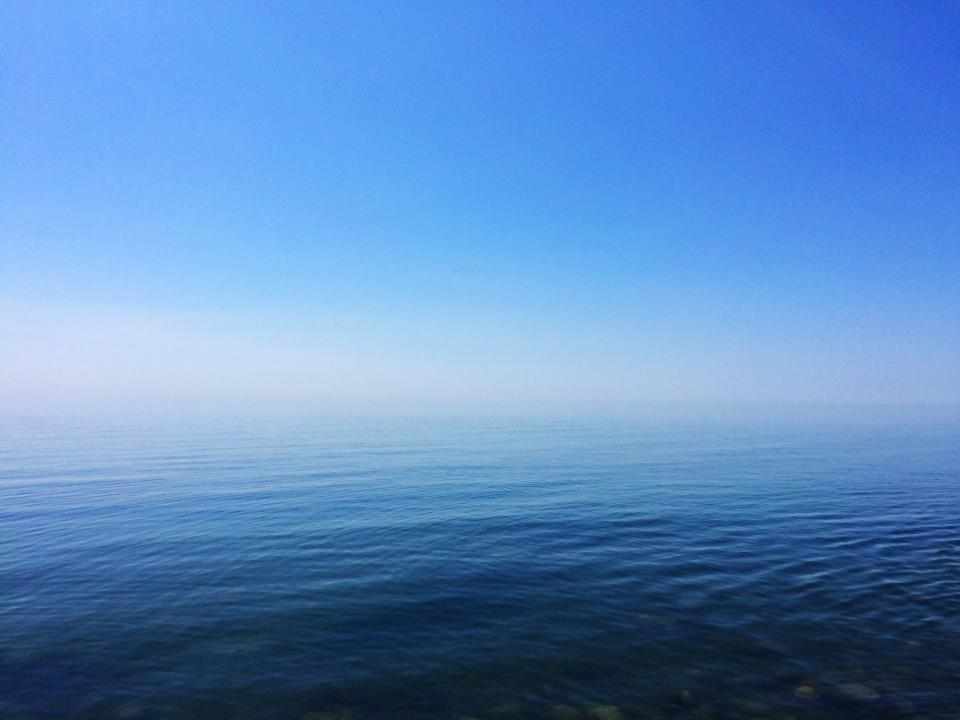 blue, sky, water, ocean, sea