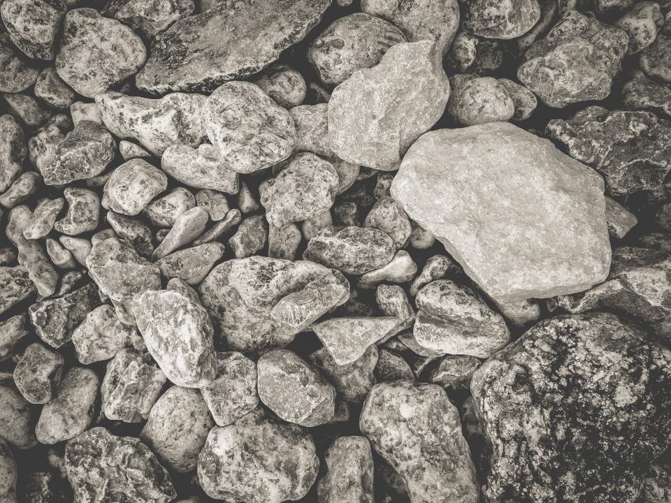 rocks, boulders, grey, texture