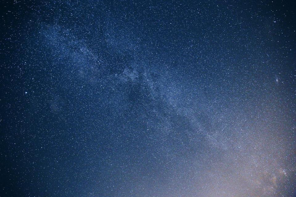 stars, galaxy, space, sky, night, evening, nature