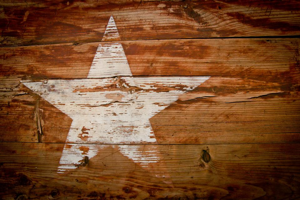 wood, star, texture